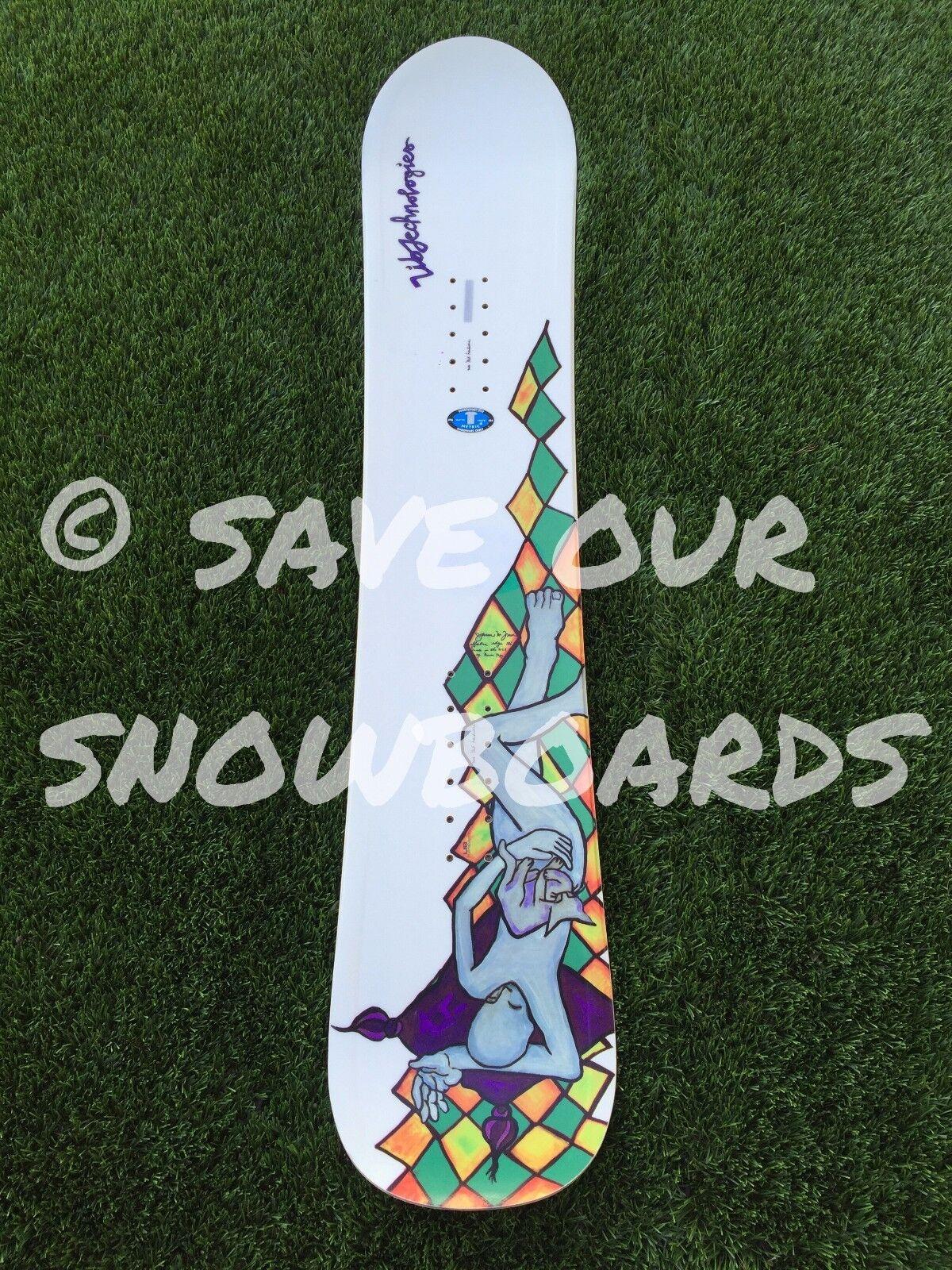 Vintage Lib Tech Jamie Lynn MINI Snowboard FREE US SHIPPING