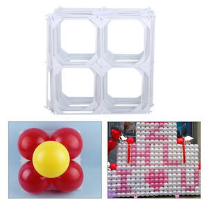 20pcs-Square-4-Hole-Modeling-Balloon-Grid-for-DIY-Wedding-Party-Wall-Decoration