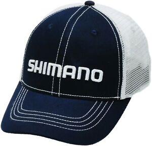 1ad6f76e New Shimano Smokey Trucker Cap Navy AHATSMOTCNV 22255438049   eBay