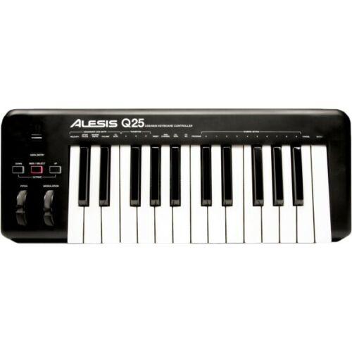 Alesis Q 25 USB//MIDI Keyboard ControllerNeu