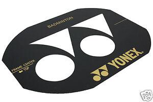 Yonex Pochoir Carte Pour Badminton Frais D Expédition Gratuits R U Ebay