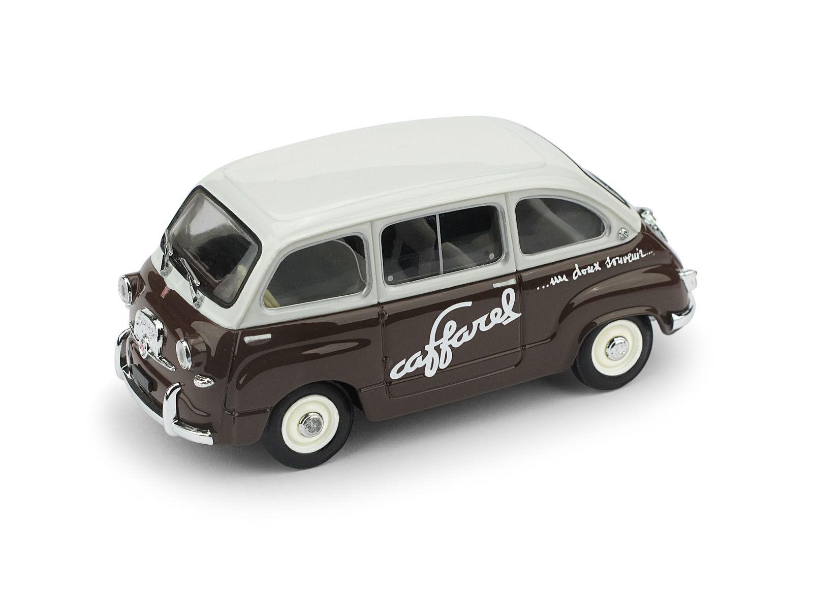 Fiat 600 Multipla Cioccolato Caffarel 1956 1 43 Model BRUMM