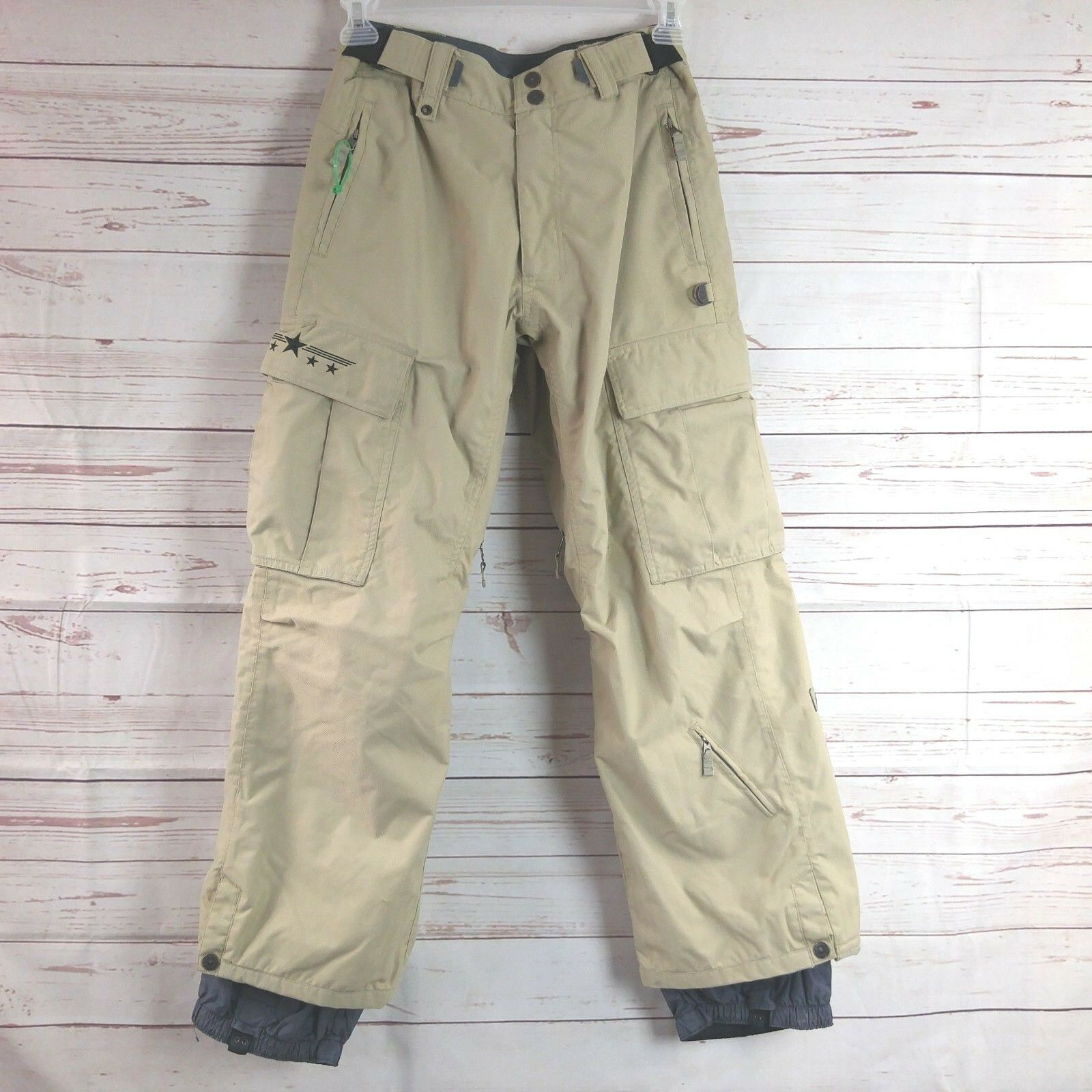 Sessions Ridge Series Snowboard Pants W  RECCO Avalanch Rescue Reflector X-Small