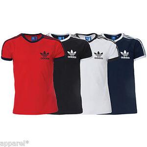 85c810a3 Image is loading Adidas-Originals-Sports-Essentials-California-Mens-T-Shirt-