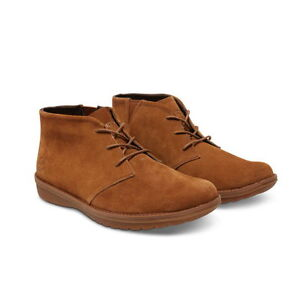 Details about TIMBERLAND FRONT COUNTRY TRAVEL MEN'S BROWN SUEDE CHUKKA SHOES BOOTS A12B2 sz12