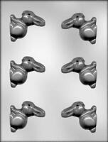 3d Bunny Easter Chocolate Candy Mold From Ck 2320 -