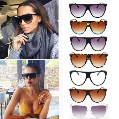 2019 NEW Kim Kardashian Sunglasses Oversized Top Flat Fashion Summer Glasses New