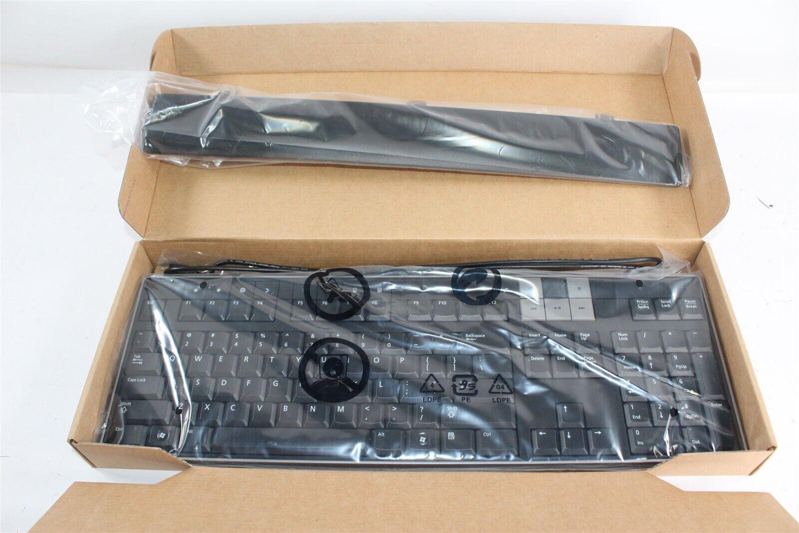 New Dell U473D USB Wired Slim Multimedia Keyboard w/ 2 USB Ports & Wrist Rest . Buy it now for 49.95