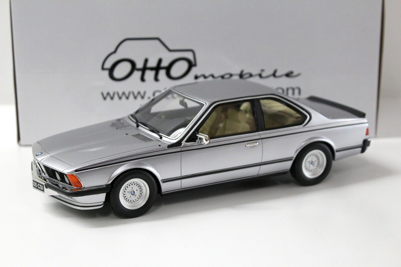 diseñador en linea 1 18 plata plata plata OTTO BMW 635 CSI E24 Coupe nuevo con coches PREMIUM  El ultimo 2018