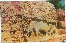 Inde - cpsm - MAHABALIPURAM - Arjuna's penance - General view