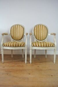 Pair-Of-19th-Century-Antique-French-Louis-XVI-Style-Chairs