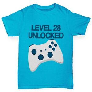 Twisted-Envy-personnalise-niveau-Debloque-du-Garcon-Drole-T-Shirt