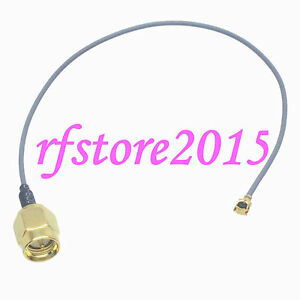 Cable-1-13mm-6inch-SMA-male-straight-to-IPX-U-fl-female-RF-Pigtail-Jumper