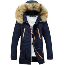 627f61b02657 item 1 Warm Winter Mens Faux Fur Hooded Jacket Casual Thicken Long Parkas  Coat Cool GW -Warm Winter Mens Faux Fur Hooded Jacket Casual Thicken Long  Parkas ...
