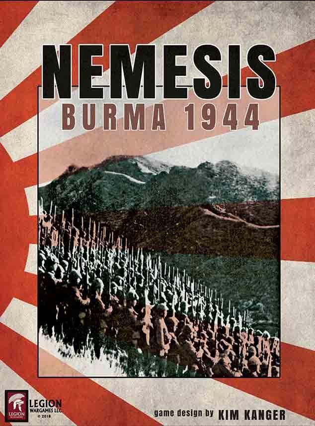 Legion wargames nemesis  birma 1944 in schrumpffolie schnelle lieferung