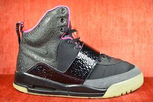explosión formar elefante  CLEAN Nike Air Yeezy 1 Blink Black Pink Size 9.5 366164-003 2009 ...