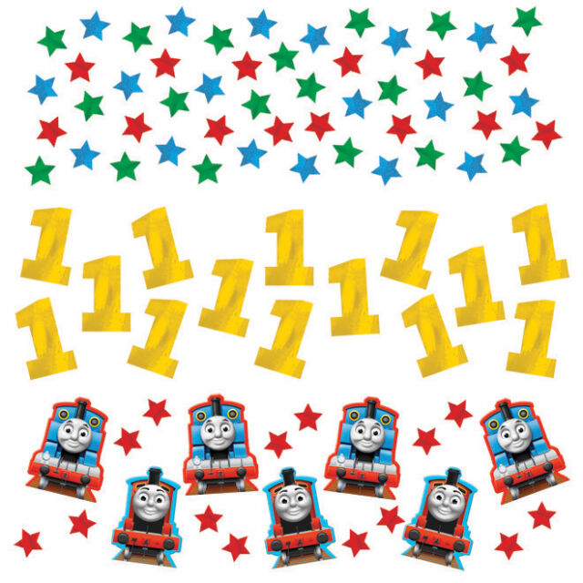 Thomas the Tank Engine and Friends Party Table Confetti | Decoration 1-5pk