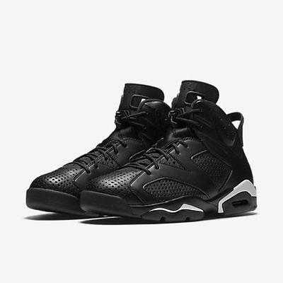 Nike Air Jordan Retro VI 6 Black Cat