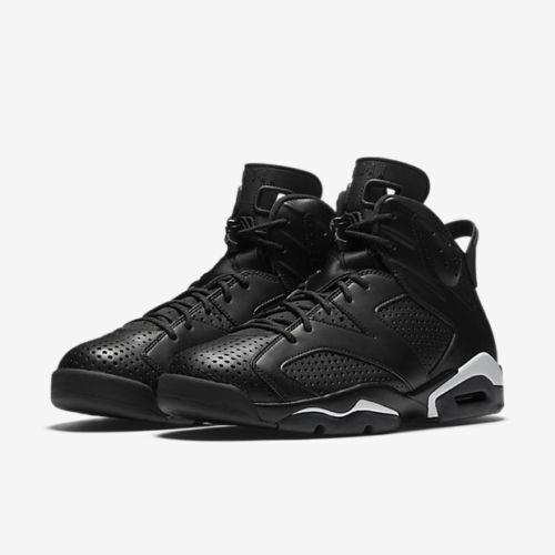 cheaper cca15 b9234 2016 Nike Air Jordan VI 6 Retro Black Cat 384664-020 Mens Shoes Sz 10.5