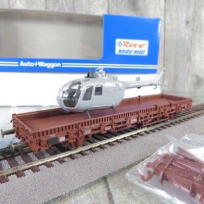 NEU OVP Roco H0 106631 Zurüstbeutel für Rungenwagen mit 20 Rungen