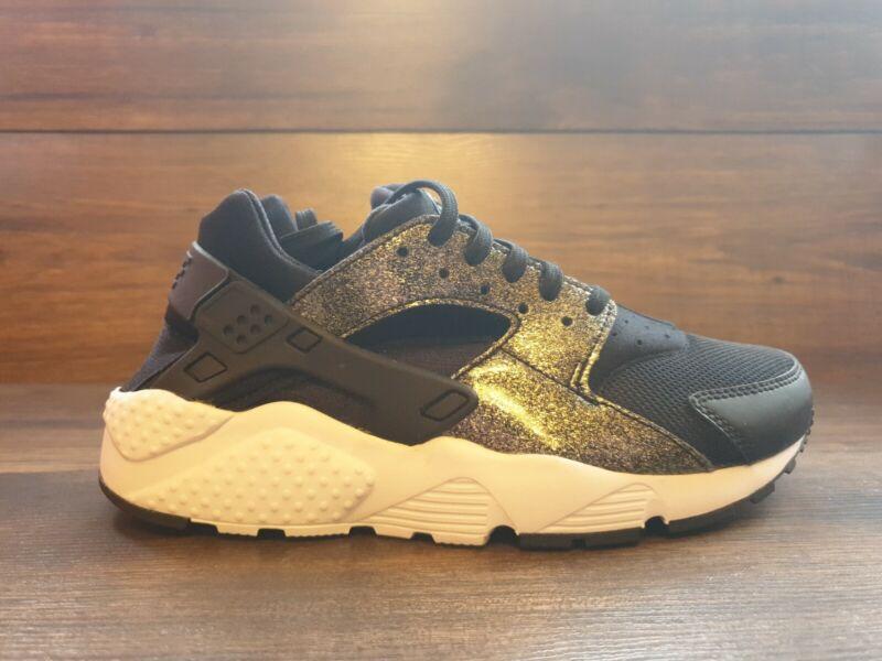 Nike Huarache Run Se Gs Uk: 5 Eur: 38 Special Edition Glitter 904538 005 Bnib