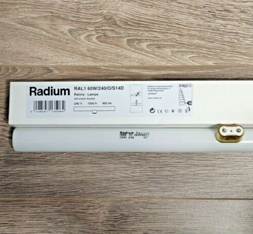 """Details about  /Architectural Lamps Radium Ralina RAL1 S14D 60W 240V Crompton 12/"""" 240V 35W"""
