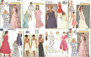 3b3b592c2a OOP Butterick Sewing Pattern Misses Formal Prom Party Dress Gown You ...