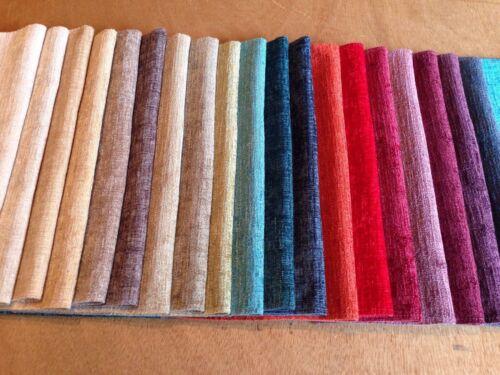Belmont Chenille por fryett/'s curtain//upholstery Tela 19 Colores Disponibles