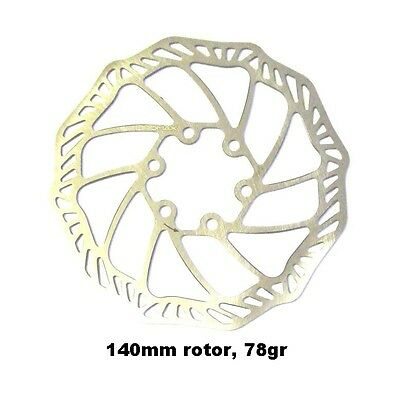 Promax Ultra Light Stainless 140mm Is Disc Brake Rotors, Avid/hayes Average 78gr Feine Verarbeitung