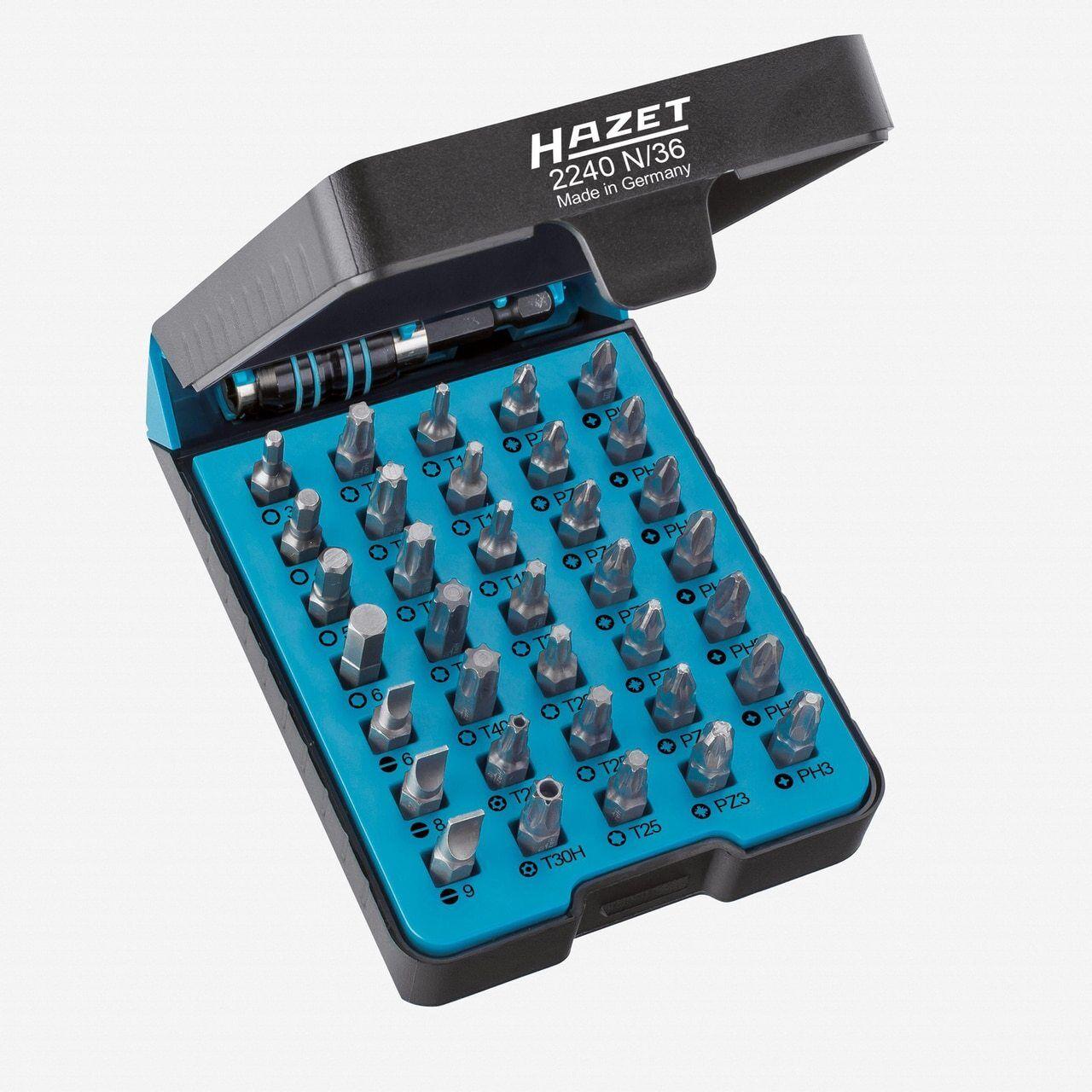 Hazet 2240N 36  BitE -box - screwdriver bit set