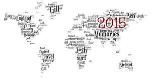 Personalised world map word art print ebay image is loading personalised world map word art print gumiabroncs Images