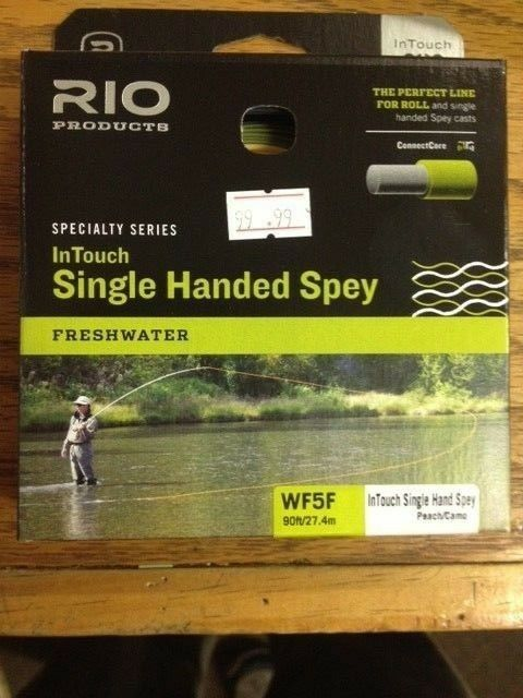 Rio InTouch Single Handed Spey Line 5WT