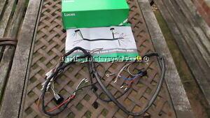 new cloth bound lucas 54949610 wiring harness diagram bsa c15 b40 rh ebay co uk