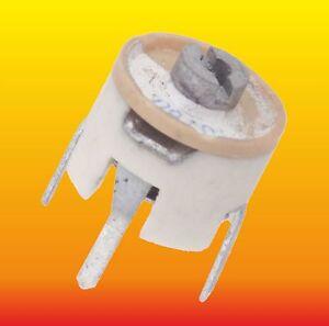 10 60 Pf Lot Of 4 German Radial Variable Ceramic Trimmer