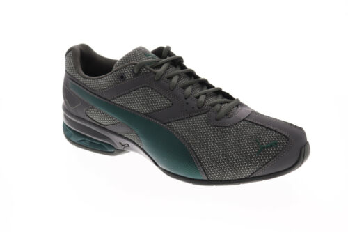 Puma Tazon 6 Zag 19248903 Mens Gray Canvas Low Top Athletic Gym Running Shoes 7