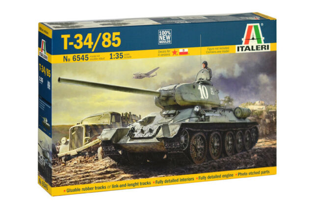 Photo-Etched 1//35 WWII T34//85 for Dragon model