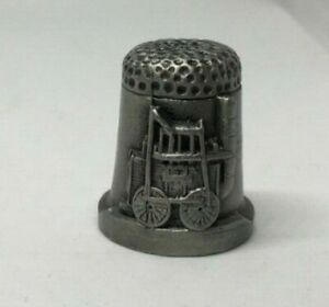 Collectable-PEWTER-Thimble-BEAMISH-AA121