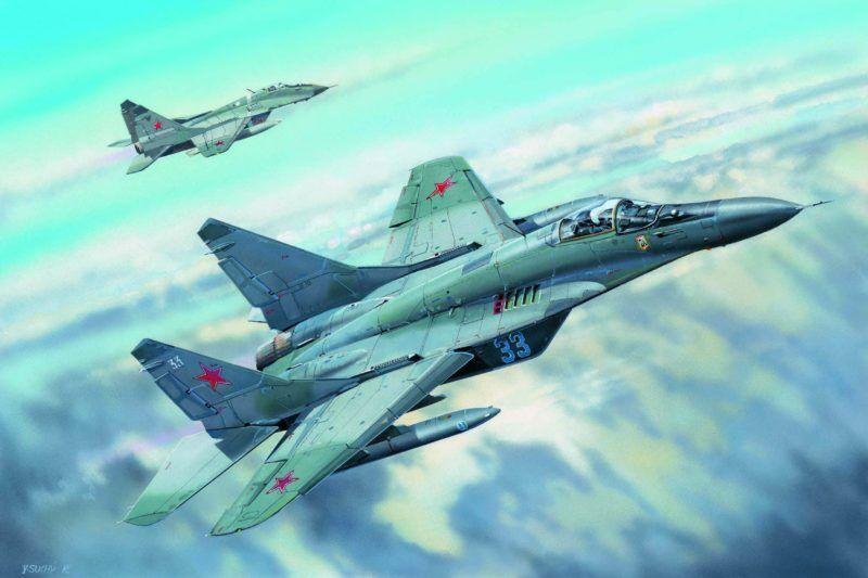 Russian Mig-29c Fulcrum Fighter 1 32 Plastic Model Kit TRUMPETER