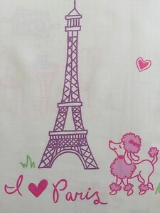 Image Is Loading Nicole Miller I Love Paris Poodle Eiffel Tower