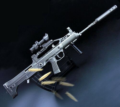 PUBG QBZ95 Automatic Rifle Machine Gun Replica Prop Alloy Discast Display 40cm
