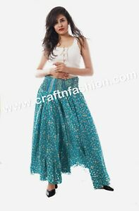 5d8ce00155 Indian Fusion Hippie Boho Women's Umbrella Flared Trouser/Palazzo ...