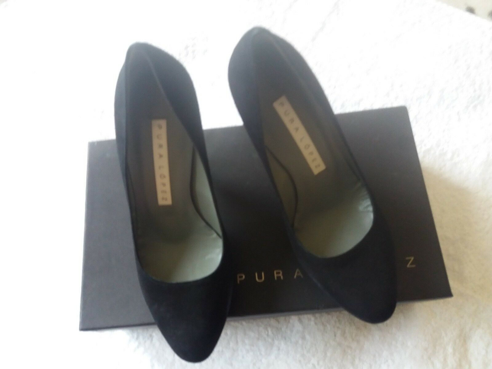 Women's Pura Lopez Heels EU Size 36 Good Condition