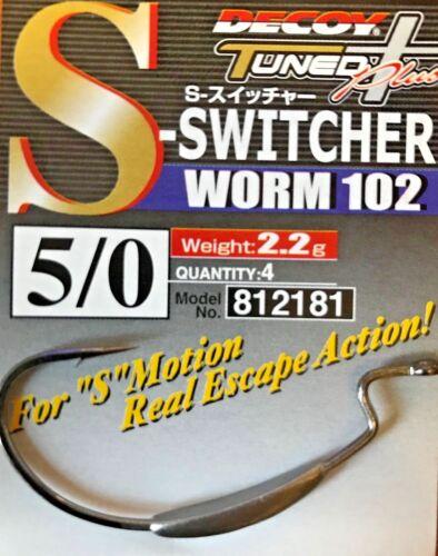 Decoy S-switcher hooks Worm102