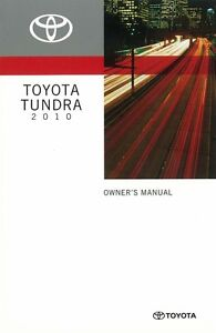2010 toyota tundra owners manual user guide reference operator book rh ebay com 2010 toyota tundra owners manual 2010 toyota tundra crewmax owners manual