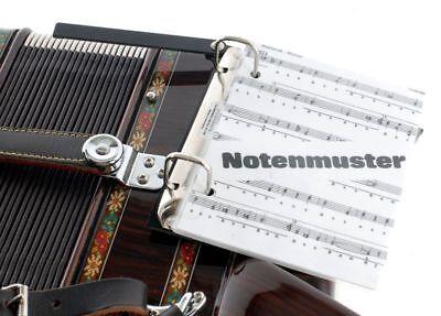 Mobiler Notenständer Für Akkordeon Music Stand For Accordion Auch Für Steirische Wasserdicht, StoßFest Und Antimagnetisch