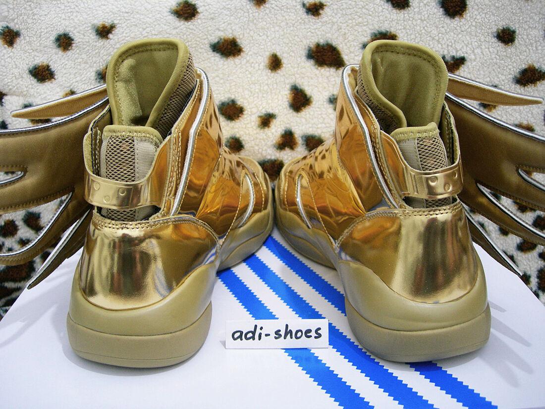 e0a4c33a85c5 adidas Jeremy Scott JS Wings 3.0 Gold UK 7 5 US 8 Flames B35651 Rainbow 2.0  ASAP for sale online