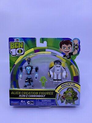 Ben 10 Alien Creation Figures 2 Pack Cannonbolt, XLR8