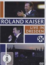 ROLAND KAISER - LIVE IN DRESDEN  DVD NEU