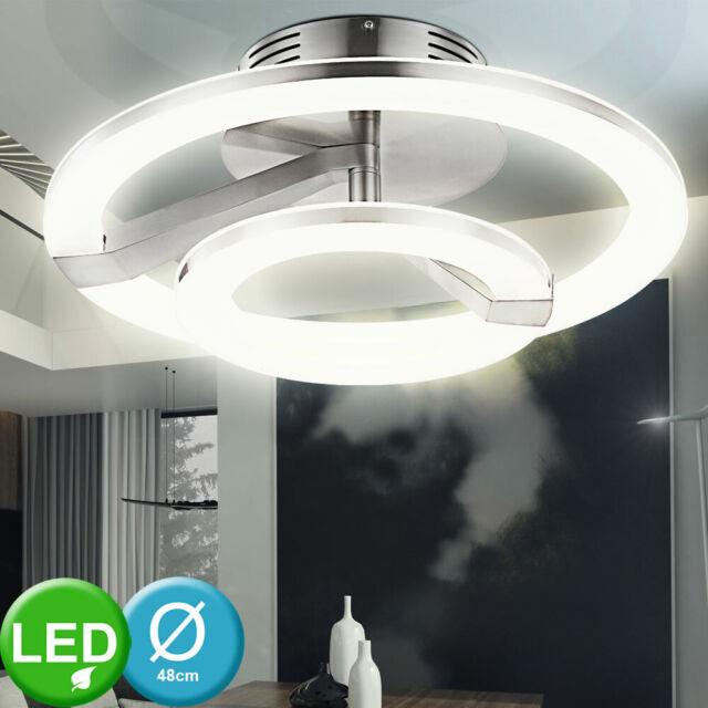 LED Luxus Decken Strahler Wellen Design Lampe Wohn Schlaf Zimmer Beleuchtung
