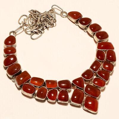 Natural Orange Botswana Onyx Agate Snake Handcuff 925 Sterling Silver Fine Jewelry Handmade Woman Fashion Unisex Design Mothers Jewelry Gift